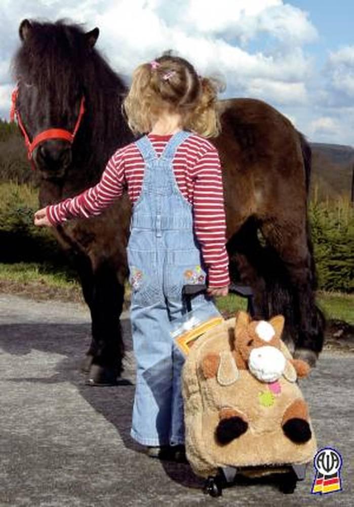 Детский рюкзак на колесах.