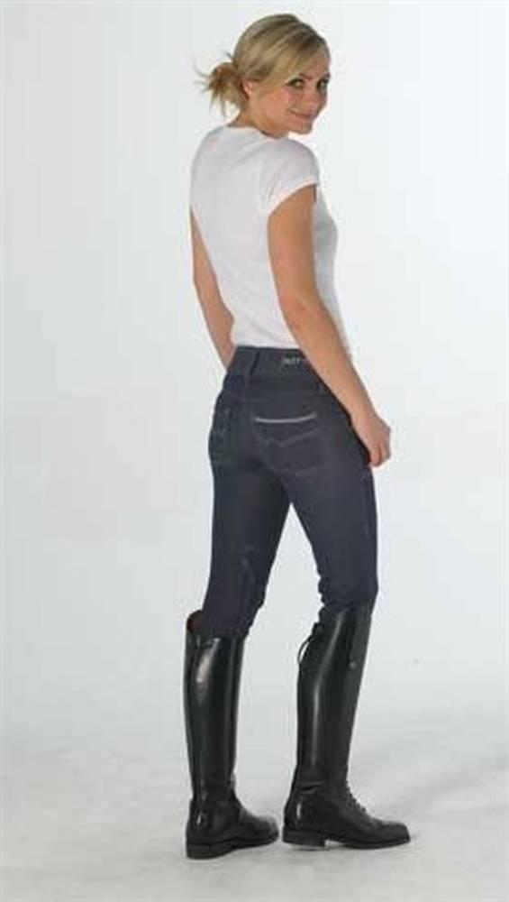 7690 руб Модные бриджи из джинсовой ткани, специально созданной для...